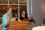 "FPU's Aleida Socarras ""Wows"" At Women Of Worth Awards"