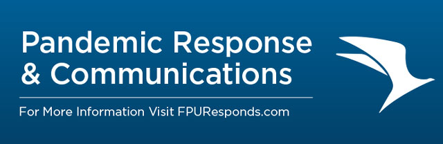 Pandemic Response & Communications - Visit FPUResponds.com